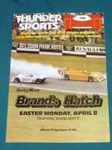 Brands Hatch 1983 April 8 THUNDERSPORTS (rd.2)